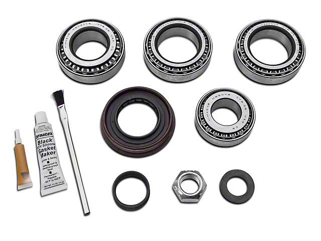 yukon gear jeep wrangler rear dana 44 bearing install kit