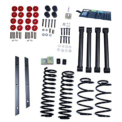 Rugged Ridge 2 in. Lift Kit w/ Shocks (97-02 Wrangler TJ)