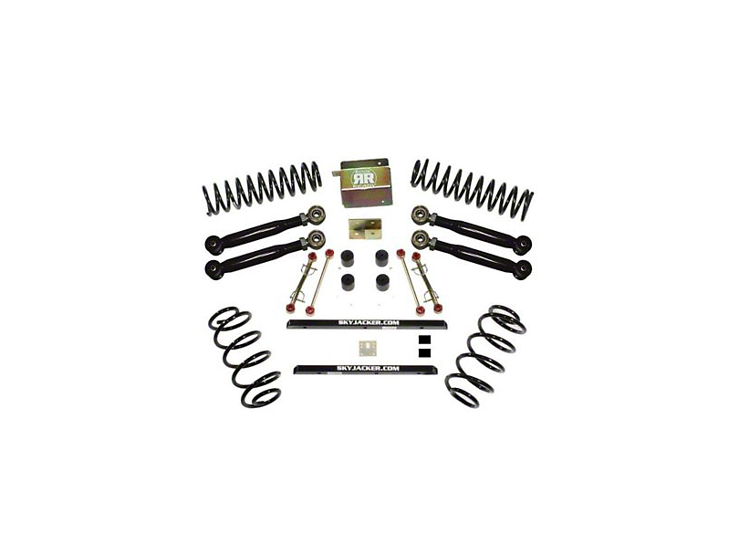 SkyJacker 2.5 in. Value Flex Lift Kit w/o Shocks (04-06 Jeep Wrangler TJ Unlimited Rubicon)