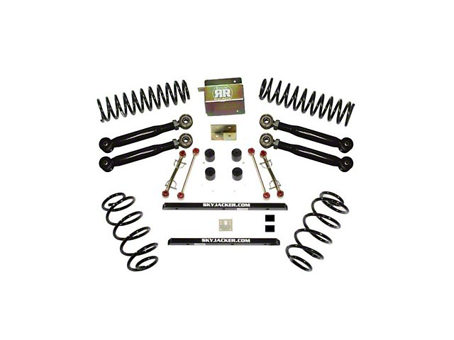 SkyJacker 2.50-Inch Value Flex Suspension Lift Kit (04-06 Jeep Wrangler TJ Unlimited Rubicon)