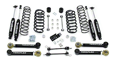 Teraflex 3 in. Lift Kit w/ Shocks & FlexArms (97-06 Wrangler TJ)