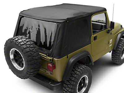 Bestop Trektop NX Soft Top - Black Diamond (97-06 Wrangler TJ, Excluding Unlimited)