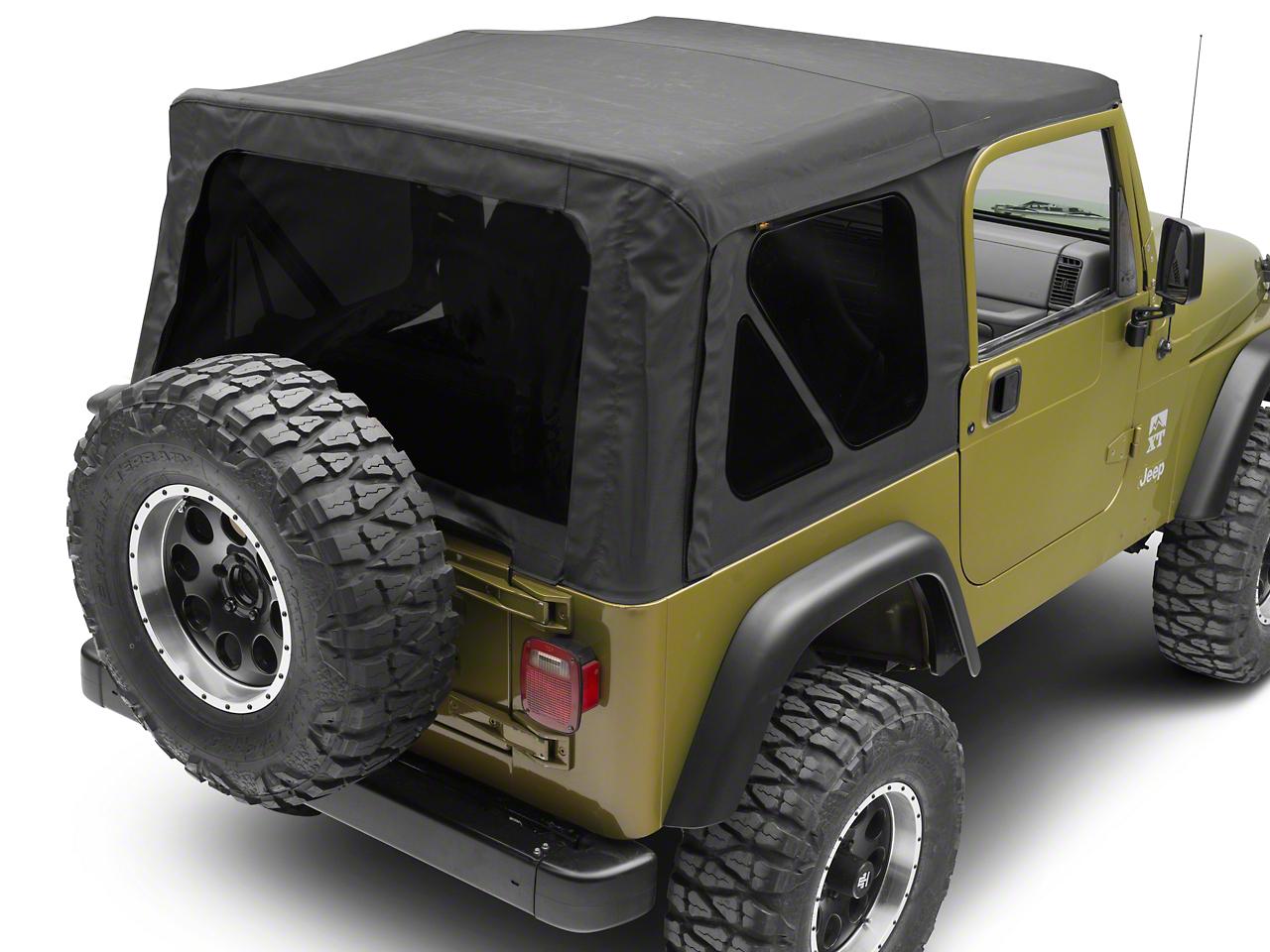 Bestop Supertop NX Soft Top - Black Diamond (97-06 Jeep Wrangler TJ, Excluding Unlimited)