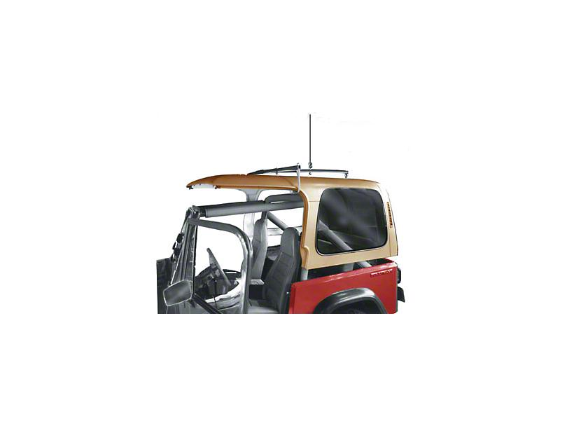 Lange Manual Hoist-a-Top (87-06 Jeep Wrangler YJ & TJ)
