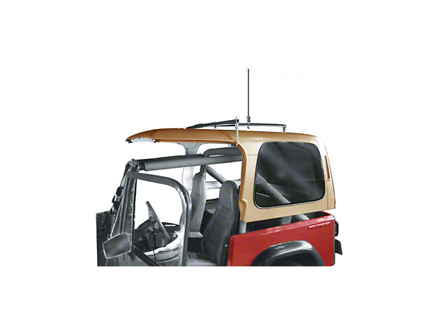 Lange Crank Hoist-a-Top (87-06 Jeep Wrangler YJ & TJ, Excluding Unlimited)