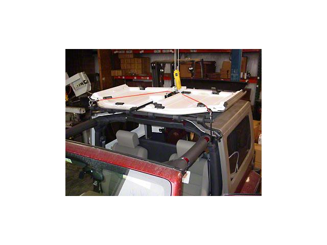 Lange Manual Hoist-a-Top (07-18 Jeep Wrangler JK)