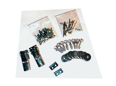Lange Kwick Kit II Top Hardware (87-95 Jeep Wrangler YJ)