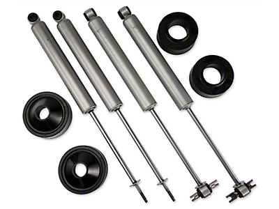 Rough Country 1.75 in. Spacer Lift w/ Shocks (07-17 Wrangler JK)