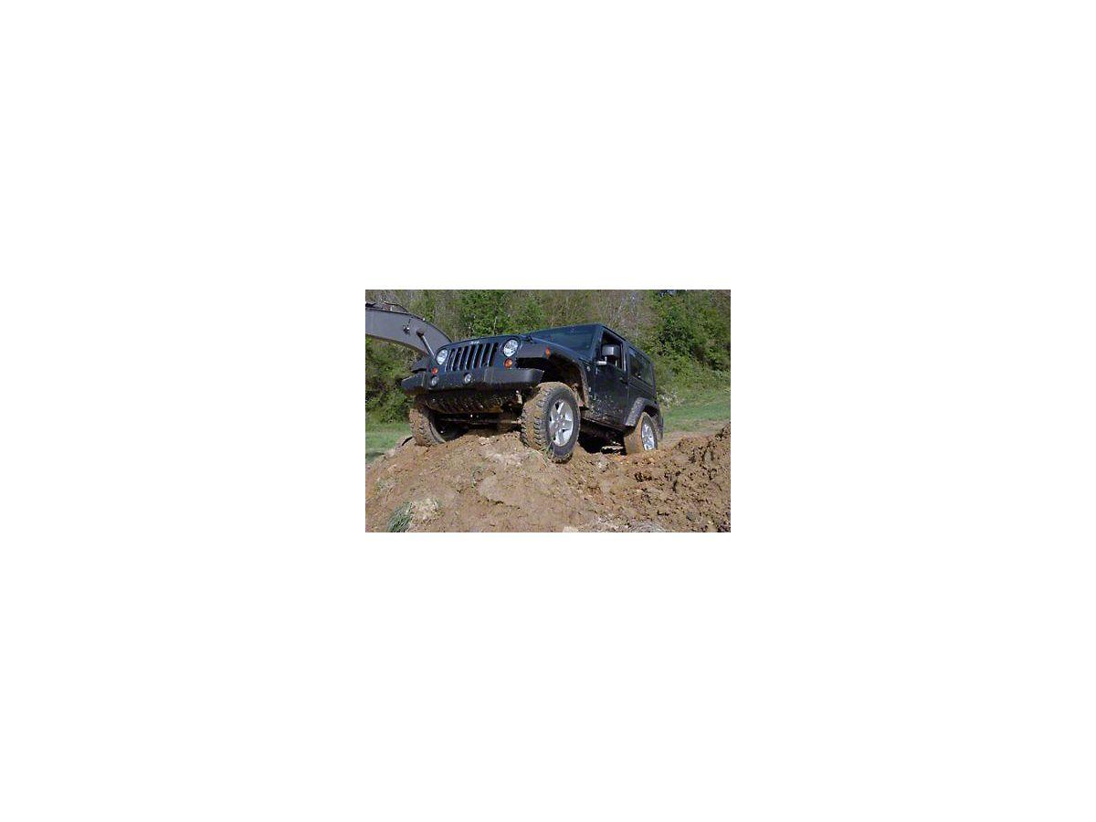 Rough Country 2 5 in  Lift Kit w/ Shocks (07-18 Jeep Wrangler JK)