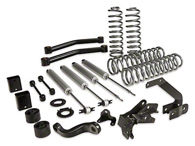Rough Country 3.5 in. Series II Lift Kit w/ Shocks (07-17 Wrangler JK 4 Door)