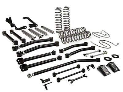 Rough Country 6 in. X-Series Suspension Lift kit w/ Shocks (07-18 Wrangler JK 4 Door)