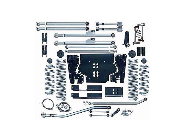 Rubicon Express 4.5 in. Extreme-Duty Long Arm Lift Kit w/o Shocks (03-06 Jeep Wrangler TJ)