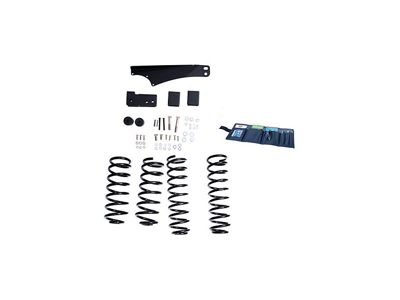 Rugged Ridge 2.5-3.5 in. Suspension Lift Kit w/ Shocks (07-18 Jeep Wrangler JK)