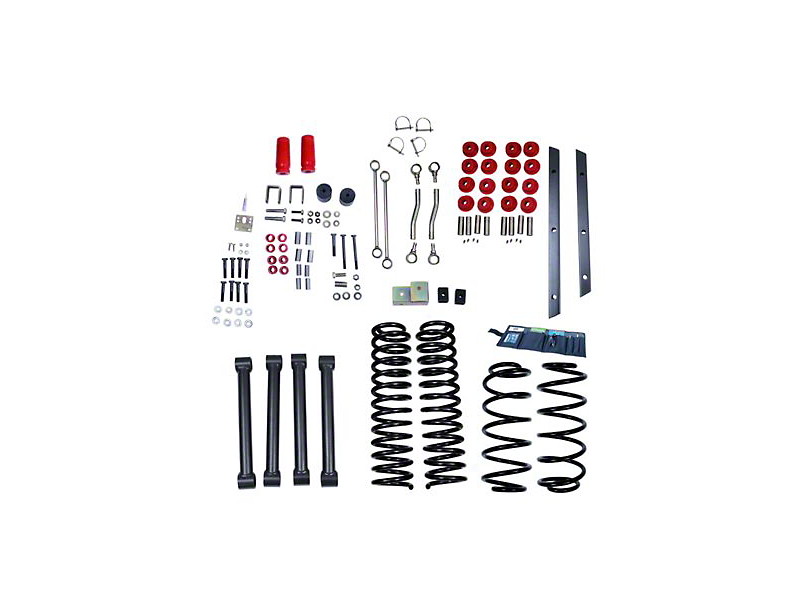 Rugged Ridge 4 in. Lift Kit w/ Shocks (97-02 Wrangler TJ)