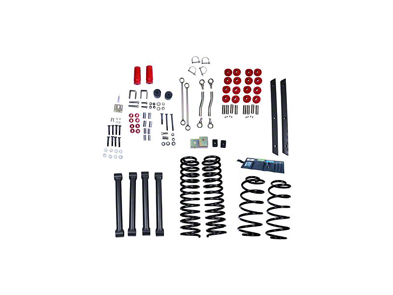 Rugged Ridge 4 in. ORV Suspension Lift Kit w/ Shocks (03-06 Jeep Wrangler TJ)