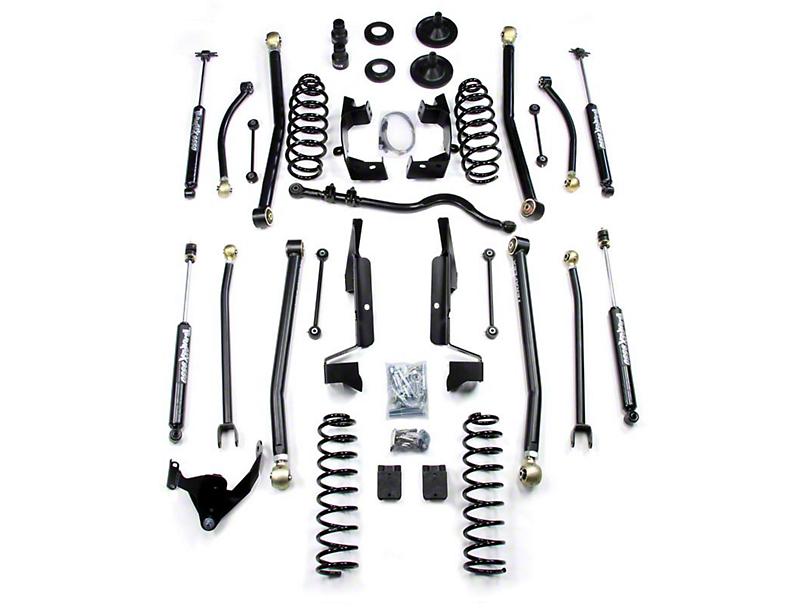 Teraflex 3 in. Elite LCG Long Arm Lift Kit w/ Shocks (07-18 Jeep Wrangler JK 4 Door)