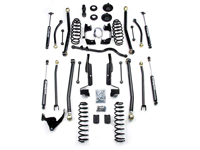 Teraflex 3 in. Elite LCG Long Arm Suspension System w/ Shocks (07-18 Jeep Wrangler JK 2 Door)