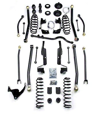 Teraflex 4 in. Elite LCG Long Arm Suspension System w/ Shocks (07-18 Jeep Wrangler JK 4 Door)