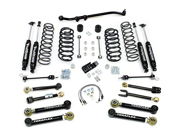 Teraflex 4-Inch Lift Kit with Shocks (97-06 Jeep Wrangler TJ)