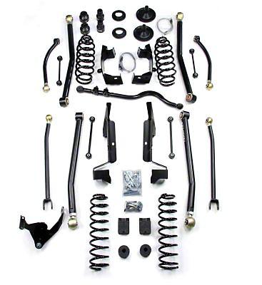 Teraflex 4 in. Elite LCG Long Arm Suspension System w/ Shocks (07-18 Jeep Wrangler JK 2 Door)