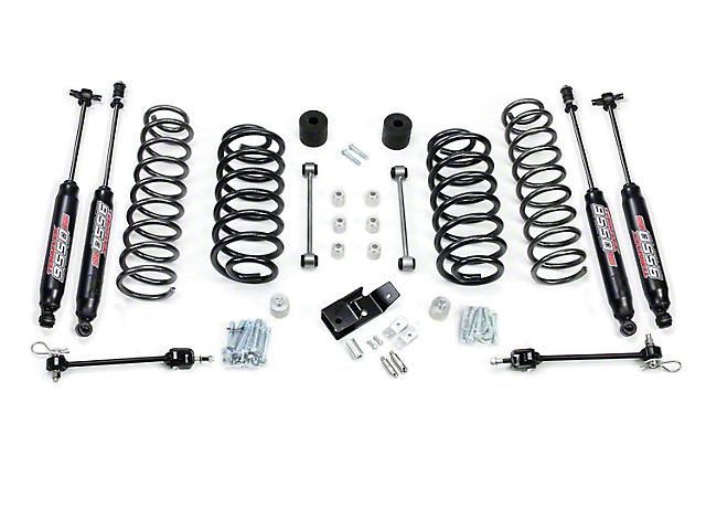 Teraflex 4 in. Lift Kit w/ Shocks (97-06 Jeep Wrangler TJ)