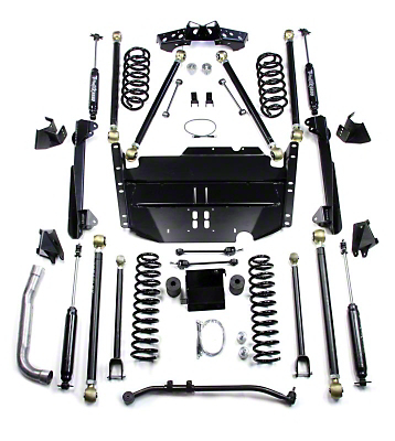 Teraflex 4 in. Pro LCG Suspension System w/ Shocks (97-06 Wrangler TJ)