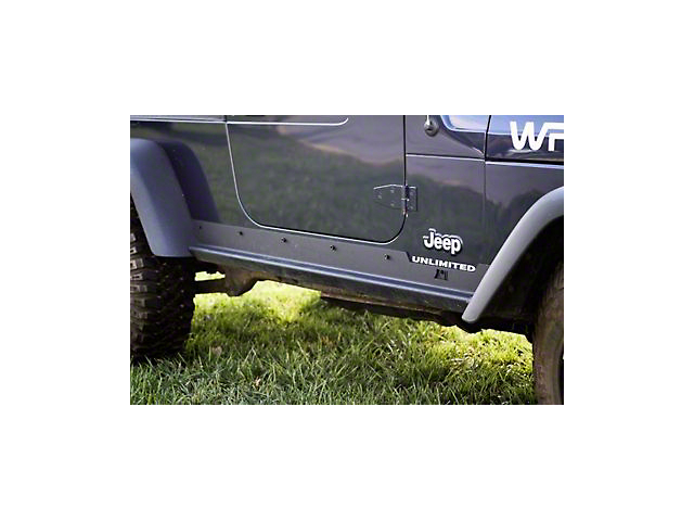 Rugged Ridge Heavy Duty Rocker Panel Guards (04-06 Jeep Wrangler TJ Unlimited)