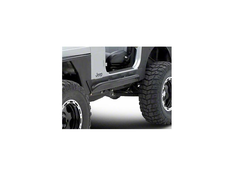 Smittybilt XRC Rock Sliders w/ Tube Step (04-06 Jeep Wrangler TJ Unlimited)