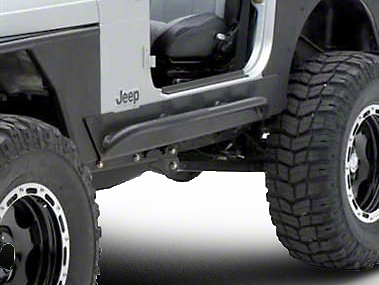 Smittybilt XRC Rock Sliders w/ Tube Step (04-06 Wrangler TJ Unlimited)