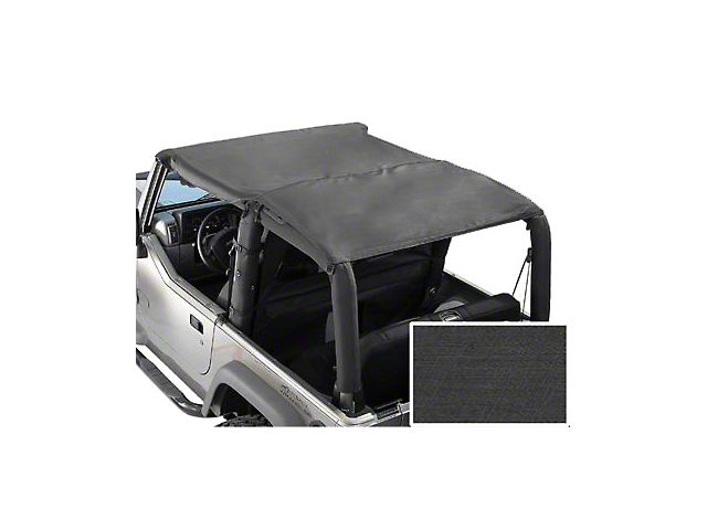 Rugged Ridge Roll Bar Top - Gray (87-91 Wrangler YJ)