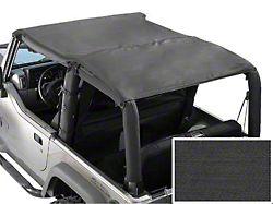Rugged Ridge Roll Bar Top; Gray (87-91 Jeep Wrangler YJ)