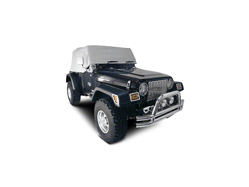 Rugged Ridge Water Resistant Cab Cover - Spice (92-06 Jeep Wrangler YJ & TJ)
