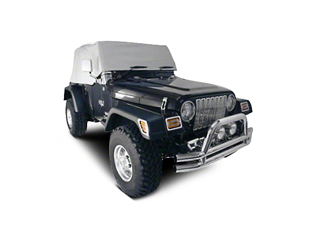 Rugged Ridge Cab Cover; Spice (92-06 Jeep Wrangler YJ & TJ)