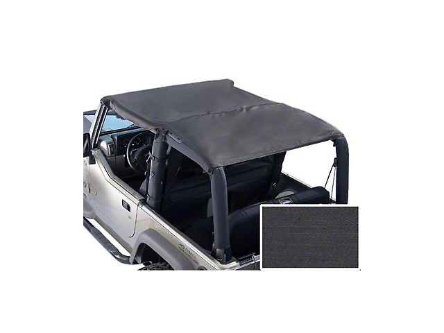 Rugged Ridge Roll Bar Top - Black Denim (92-95 Wrangler YJ)