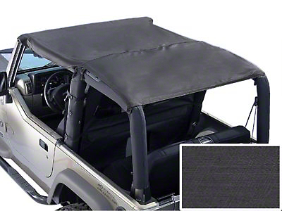 Rugged Ridge Roll Bar Top - Black Denim (92-95 Jeep Wrangler YJ)