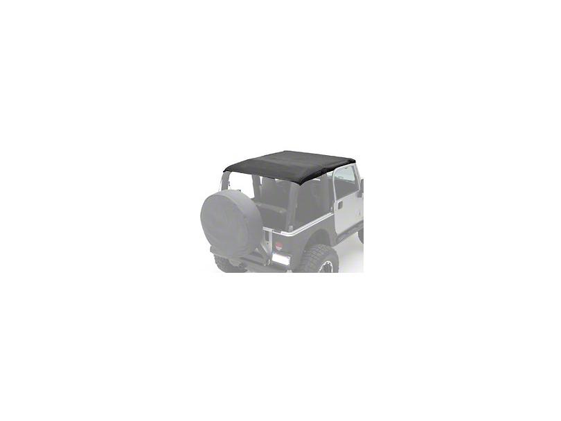 Smittybilt Extended Top - Black Diamond (10-18 Jeep Wrangler JK 2 Door)