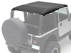 Smittybilt Extended Top - Black Diamond (10-18 Jeep Wrangler JK 2 Door)