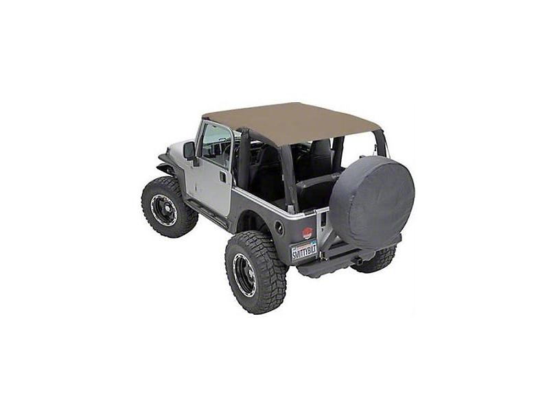 Smittybilt Extended Brief Top - Spice Denim (92-95 Jeep Wrangler YJ)