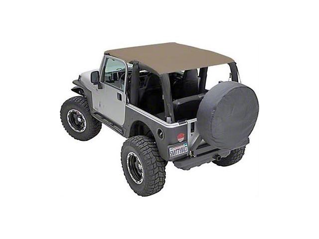 Smittybilt Extended Brief Top; Spice Denim (92-95 Jeep Wrangler YJ)
