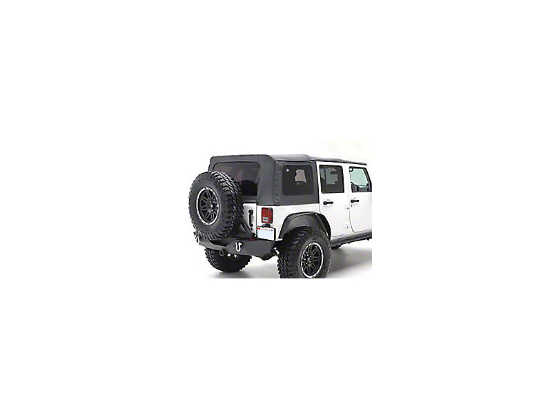 Smittybilt OEM Replacement Soft Top w/ Tinted Windows- Black Diamond (10-18 Jeep Wrangler JK 4 Door)