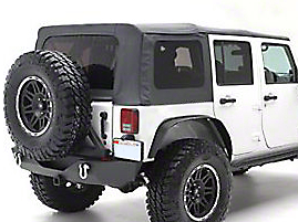 Smittybilt OEM Replacement Top w/ Tinted Windows (10-18 Wrangler JK 4 Door)
