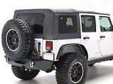 Smittybilt OEM Replacement Soft Top with Tinted Windows; Black Diamond (10-18 Jeep Wrangler JK 4 Door)