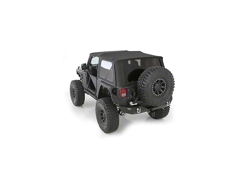 Smittybilt OEM Replacement Top w/ Tinted Windows (07-09 Wrangler JK 2 Door)