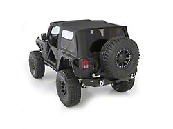 Bestop Jeep Wrangler Sunrider For Hardtop Black Twill