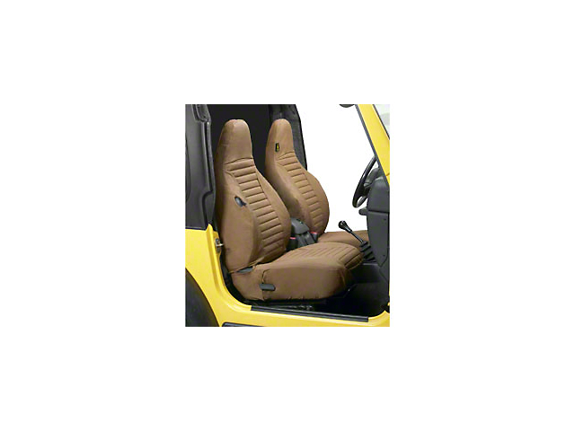 Bestop Factory High-Back Bucket Front Seat Covers; Spice (97-02 Jeep Wrangler TJ)