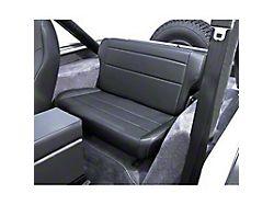 Rugged Ridge Fold & Tumble Rear Seat - Black Denim (87-95 Jeep Wrangler YJ)