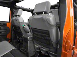 Rugged Ridge Wrangler Neoprene Front Seat Vests Black