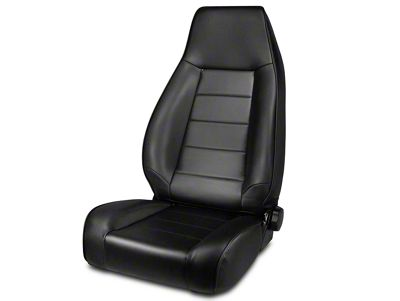 Rugged Ridge Reclining Front Seat - Black Denim (87-02 Jeep Wrangler YJ & TJ)