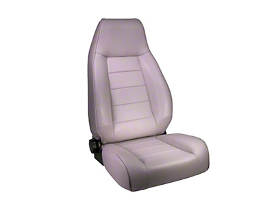 Rugged Ridge Reclining Front Seat - Gray (87-02 Jeep Wrangler YJ & TJ)