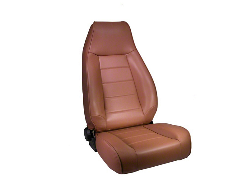 Rugged Ridge High-Back Reclining Front Seat; Spice (87-02 Jeep Wrangler YJ & TJ)